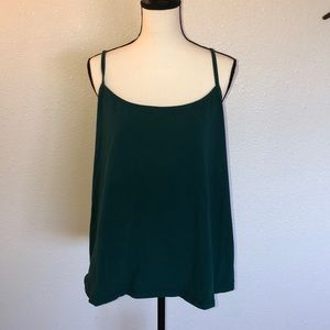 Lane Bryant Green Cami Size 18/20